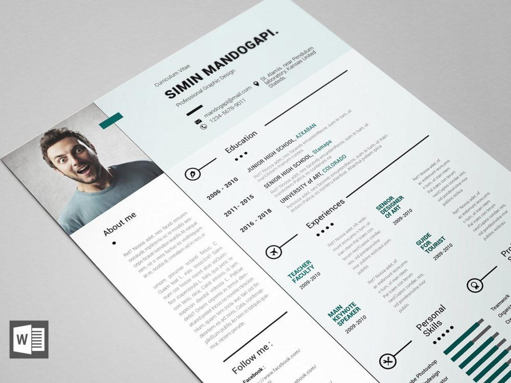 85 top free ms word resume templates for 2020