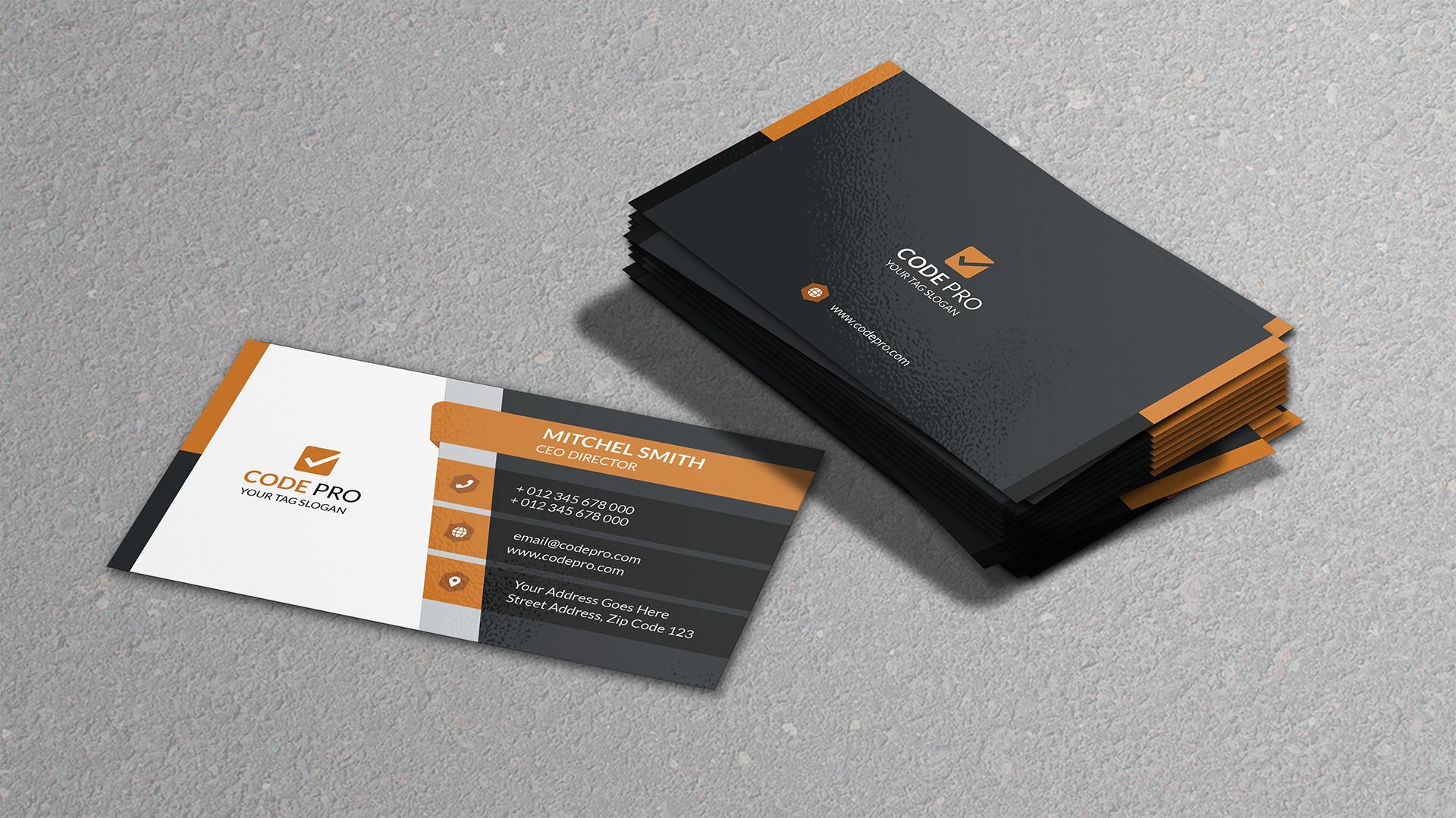 Business Card Mockup Free Psd 2020 Daily Mockup