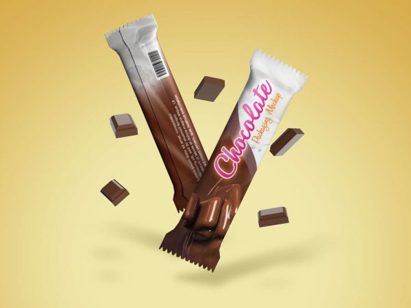 Free Chocolate Pack Mockup