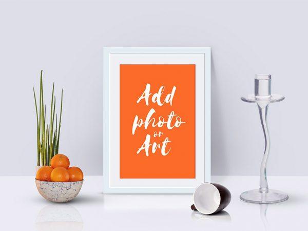 Free Photo Frame Mockup