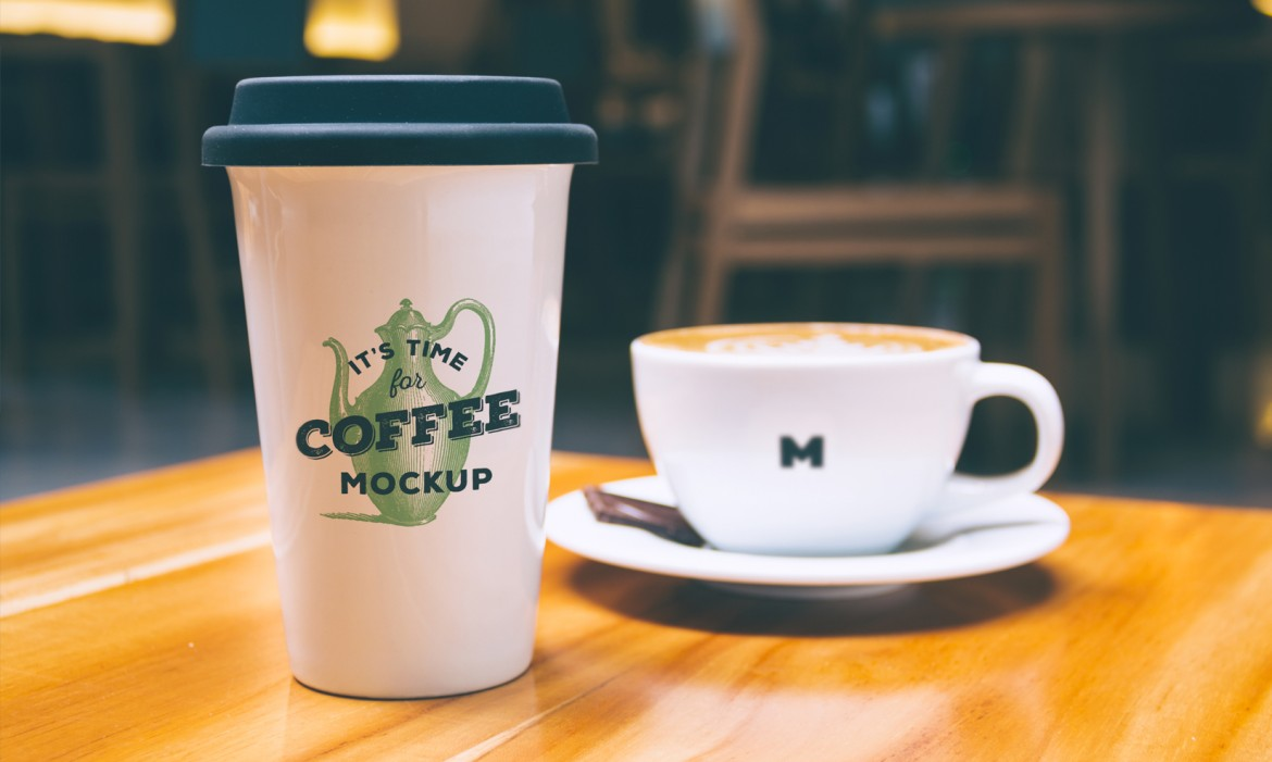 Coffee Cup and Mug Mockup Free PSD Template 2020 - Daily ...