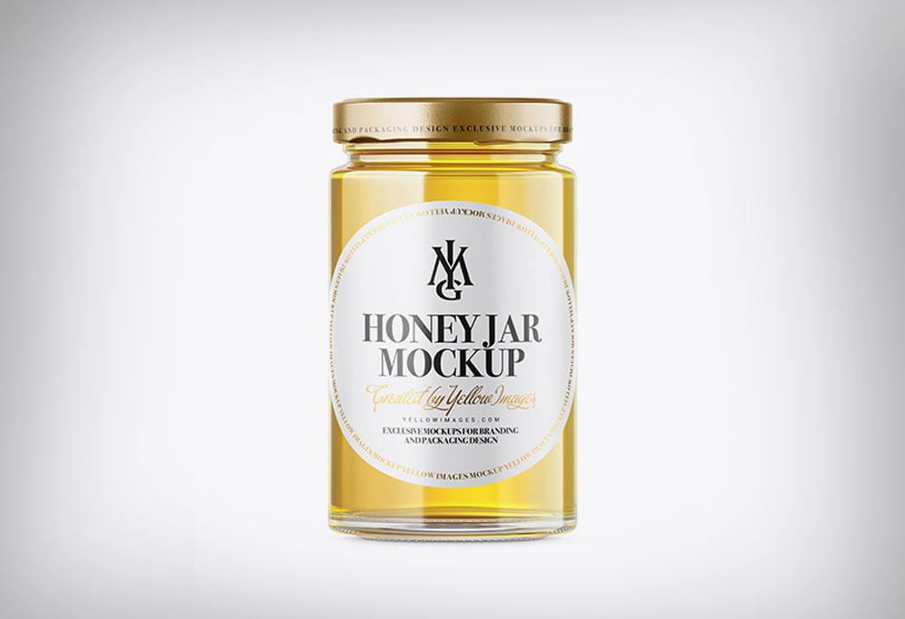 Download Honey Jar Bottle Mockup Psd Template 2020 Daily Mockup PSD Mockup Templates