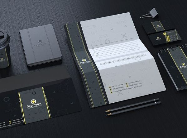 Stationery Pack Mockup
