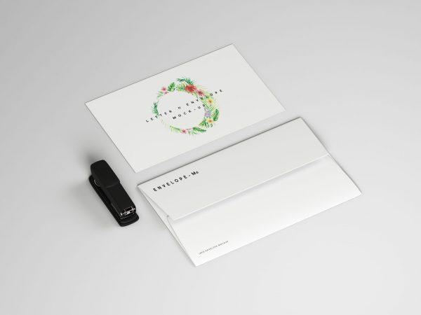 Envelope Mockup Free