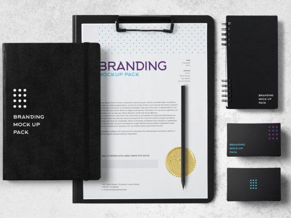 Free Branding Mockup Pack