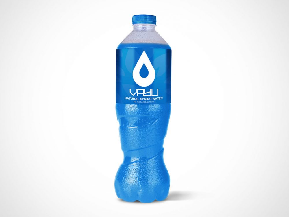 Free Water Bottle Mockup