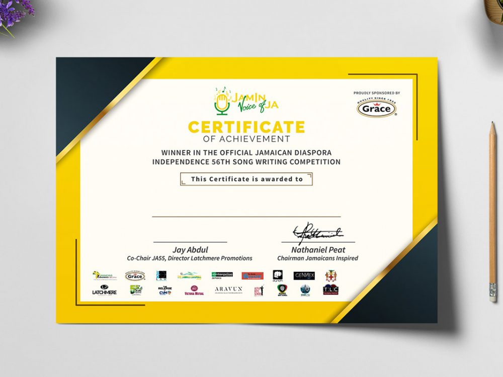 Certificate Mockup PSD Free Download - Daily Mockup