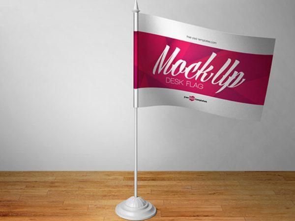 Free Flag Mockup PSD File
