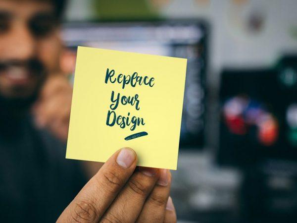 Notepad Paper Mockup