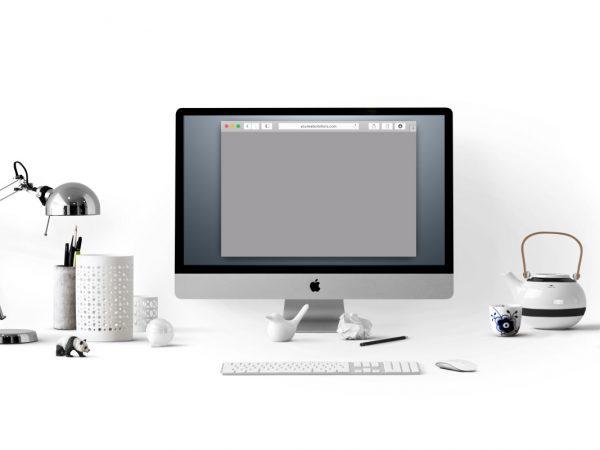 Free iMac Mockup