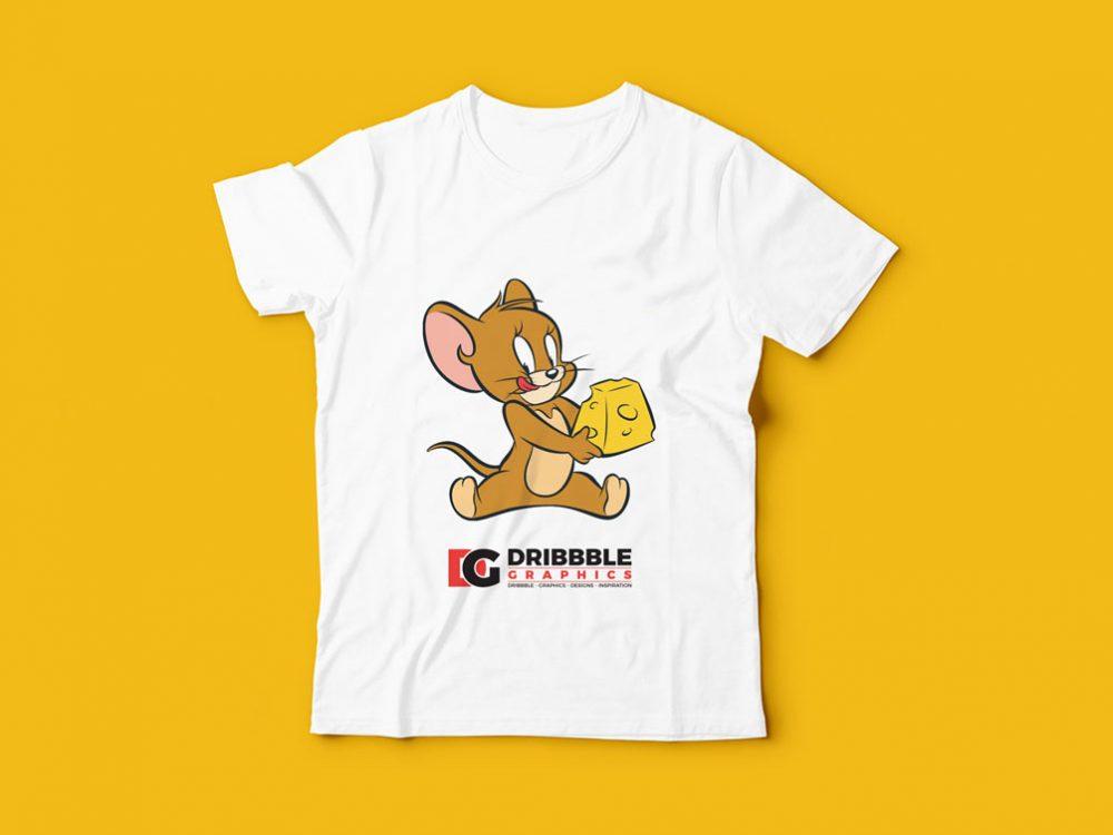 Kids T-Shirt Free Mockup