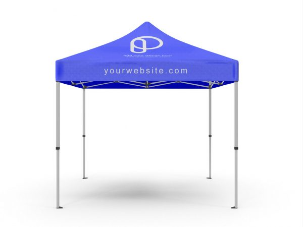 Free Promotional Tent Mockup