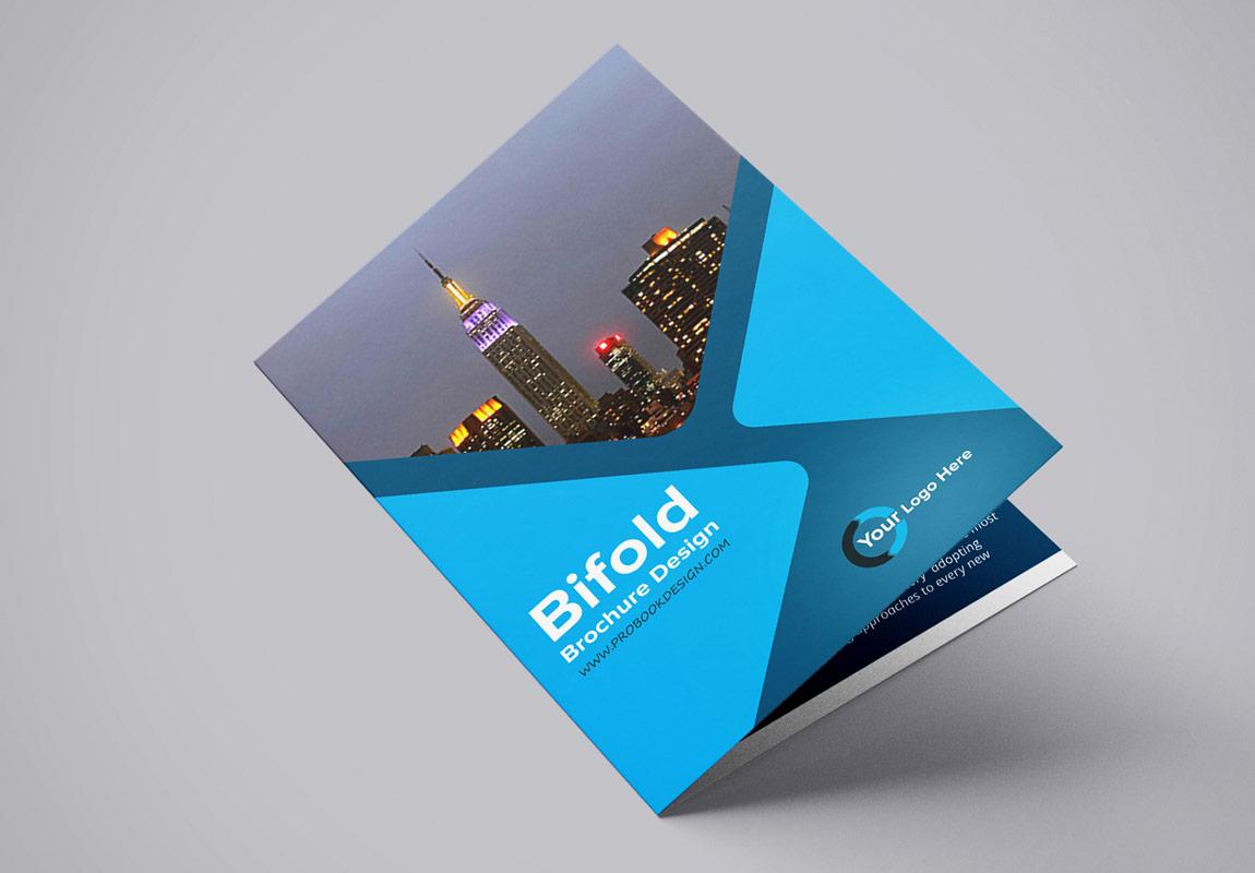 Free Brochure Mockup Psd Bifold 2020 Daily Mockup