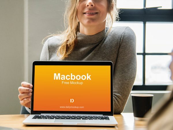 Laptop Free Mockup Template