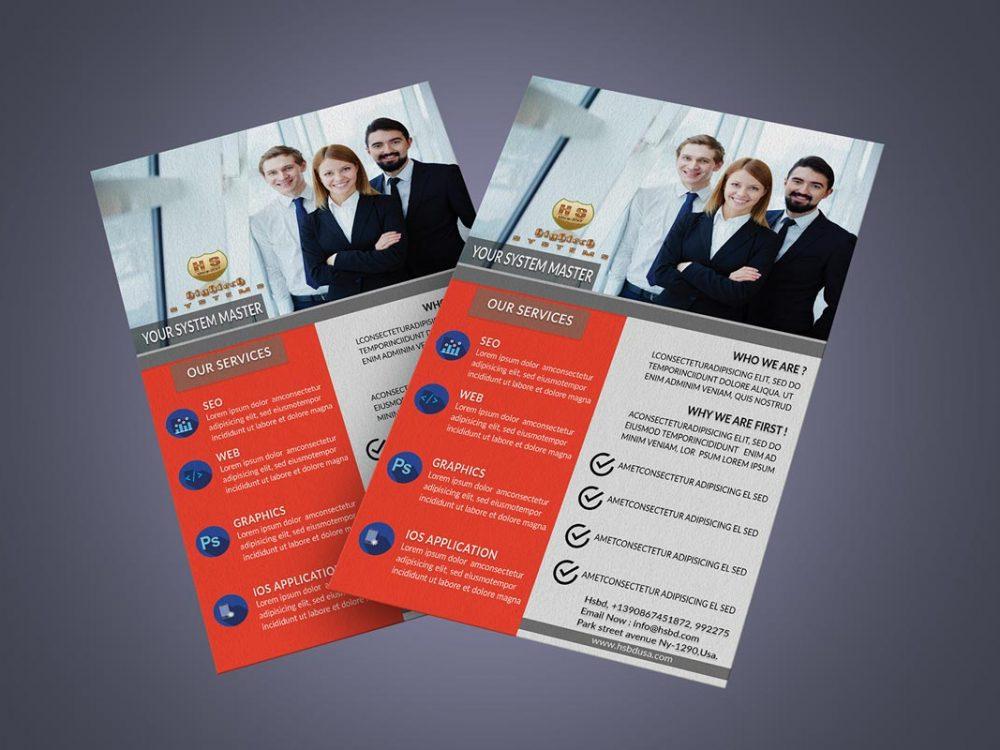 Business Flyer Mockup