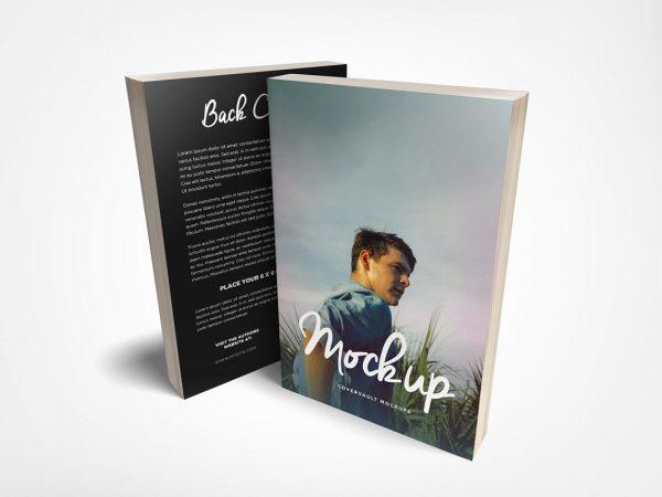 Free Book Mockup Photoshop