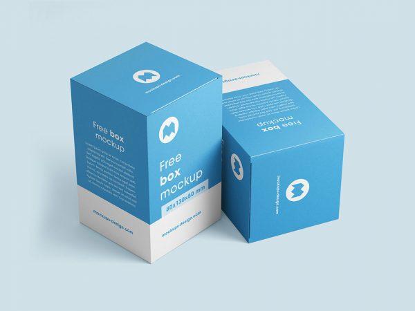 Free Box Mockup PSD