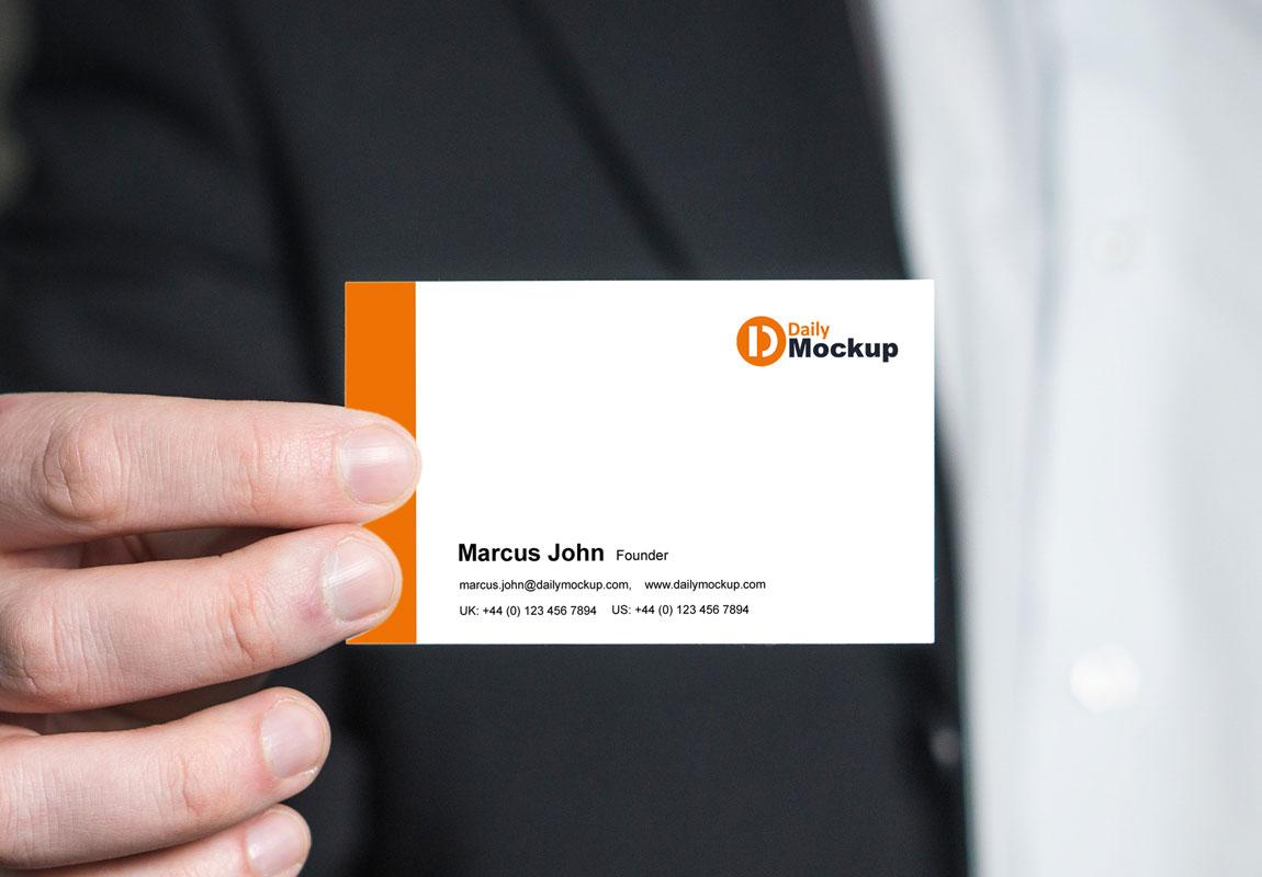 business card free mockup psd 2020  daily mockup