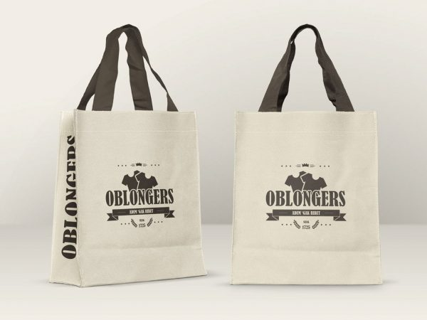 Free Cotton Bag Mockup