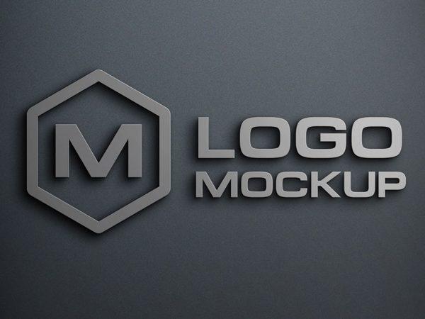 Free Logo Mockup PSD