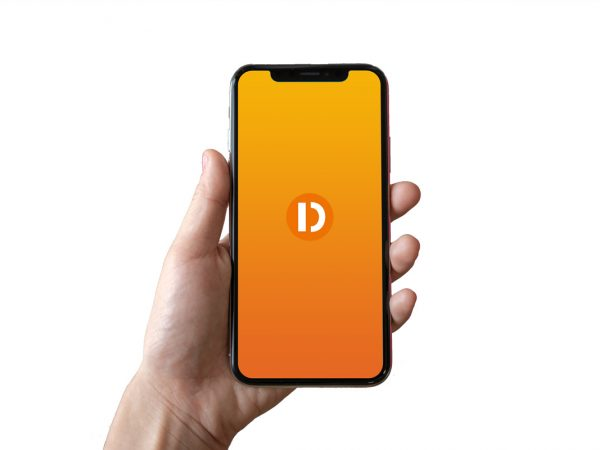 iphone mockup vector