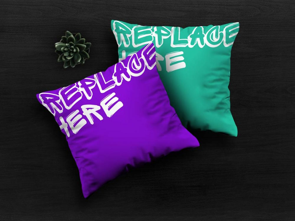 Pillows Mockup Free