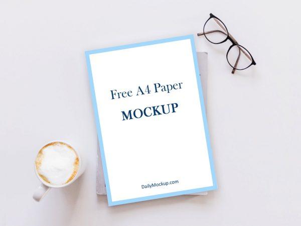 a4 mockup free