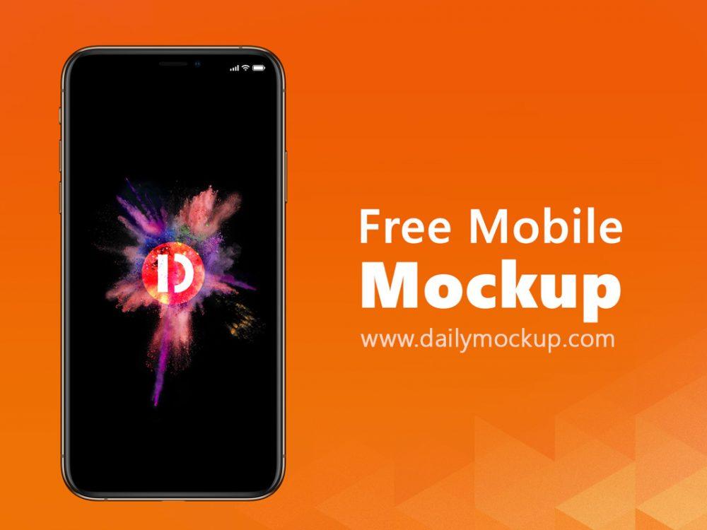 Free Mobile Mockup