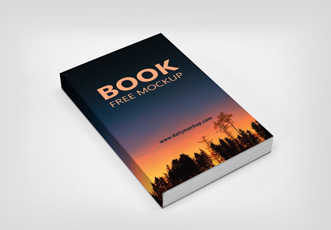 book free mockup psd 2020