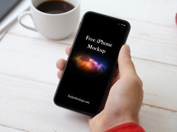iphone psd mockup