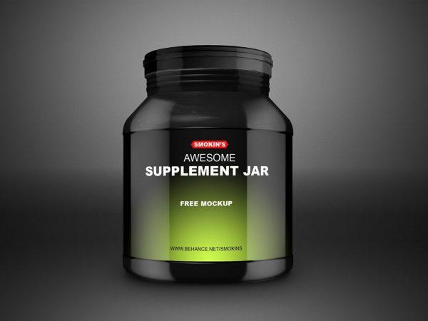 Jar Mockup Free
