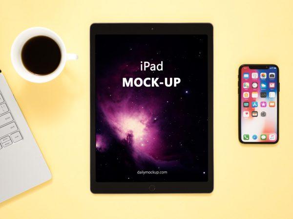 iPad Mockup Free