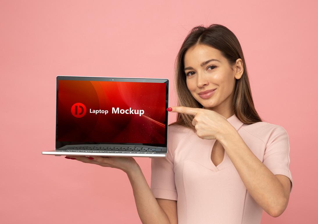 Download Free Laptop Mockup PSD File 2020 - Daily Mockup Free Mockups