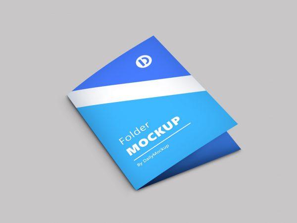 Folder Mockup Free