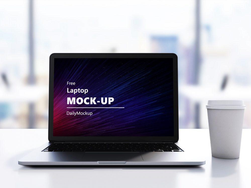 Free Laptop Mock-up