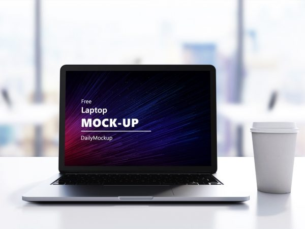 Free Laptop Mock-up