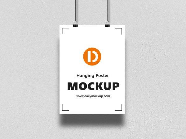 Poster Mockup Free