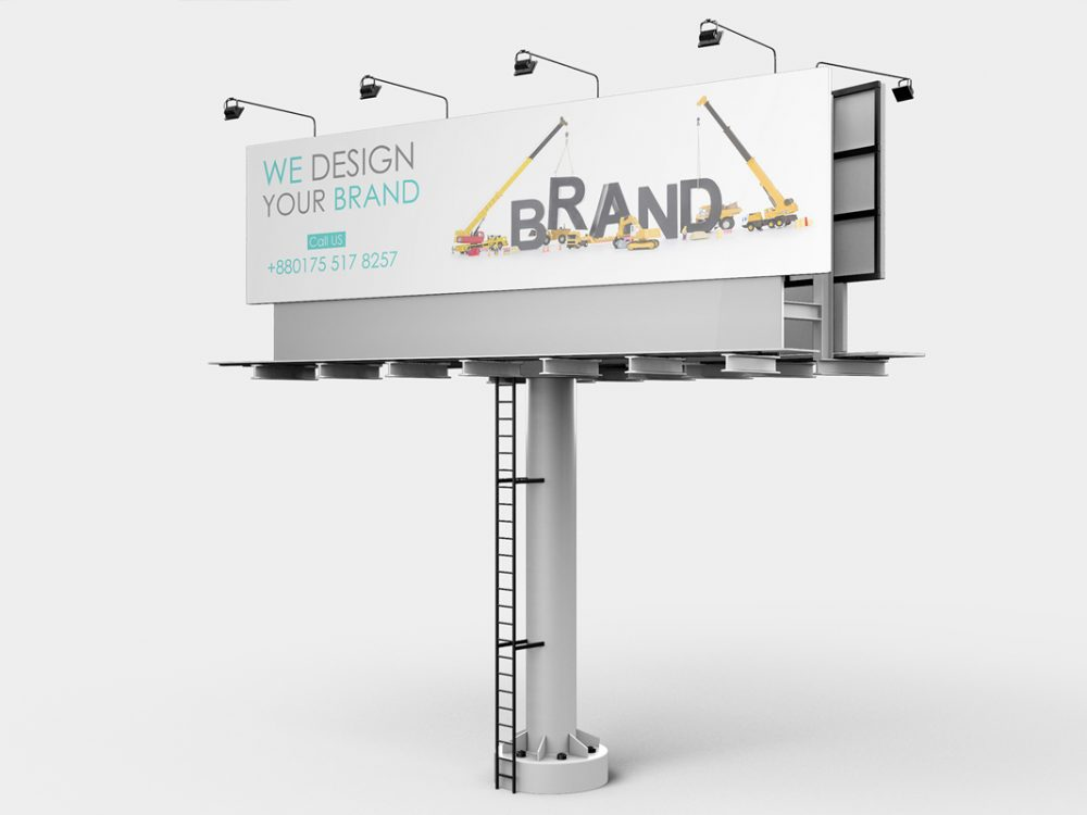 Billboard Mockup Design Free
