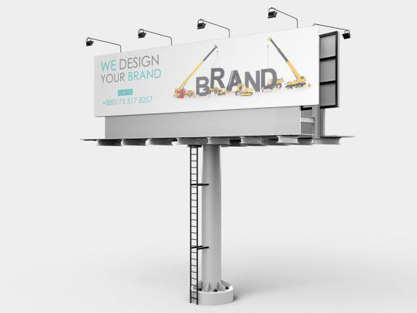 Billboard Mockup Design Free