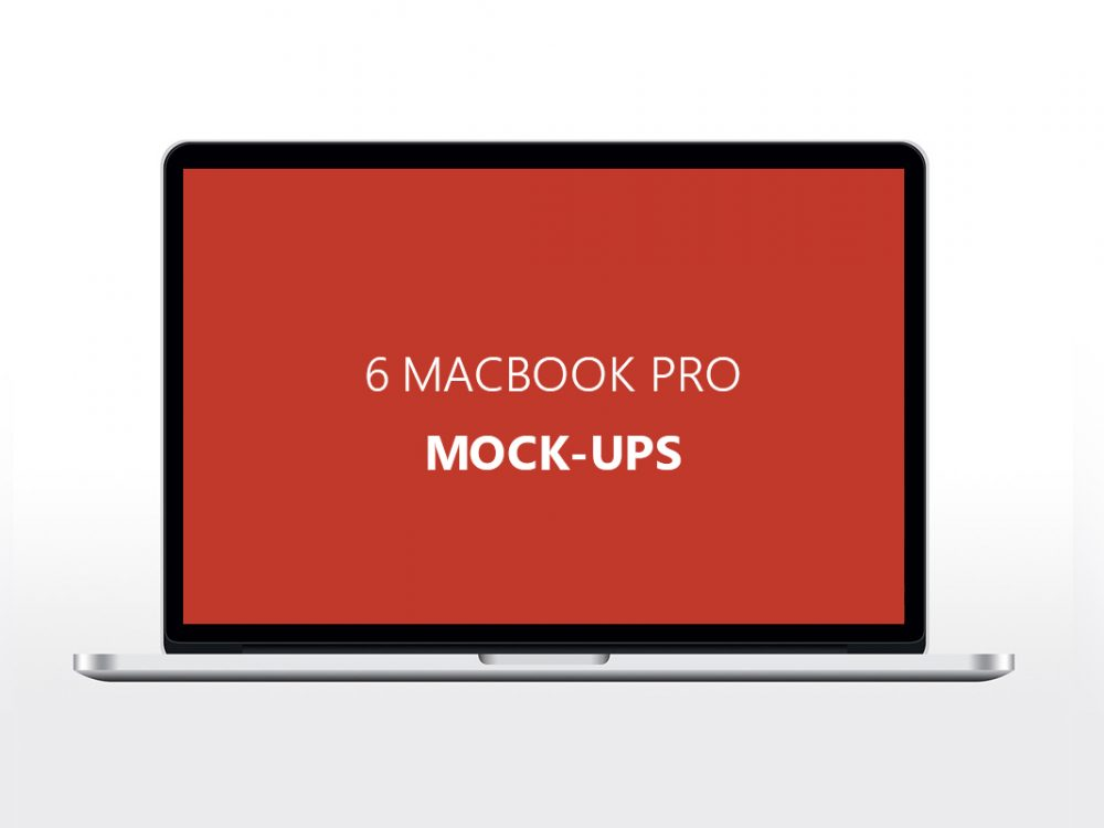 macbook mockups free
