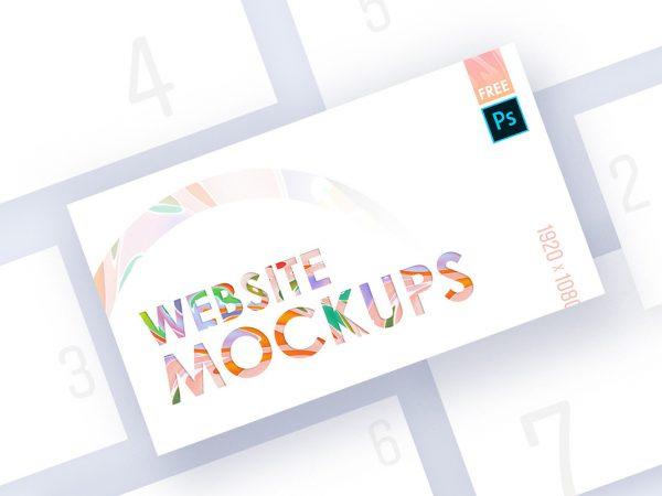 Free Website Mockups