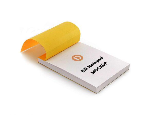 Notepad Mockup Free