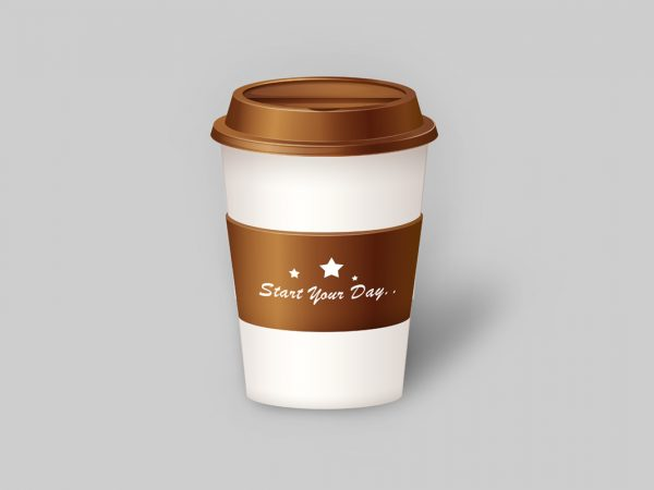 cup psd mockup