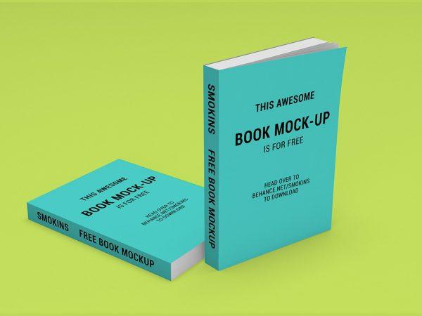 Free Book Mockup