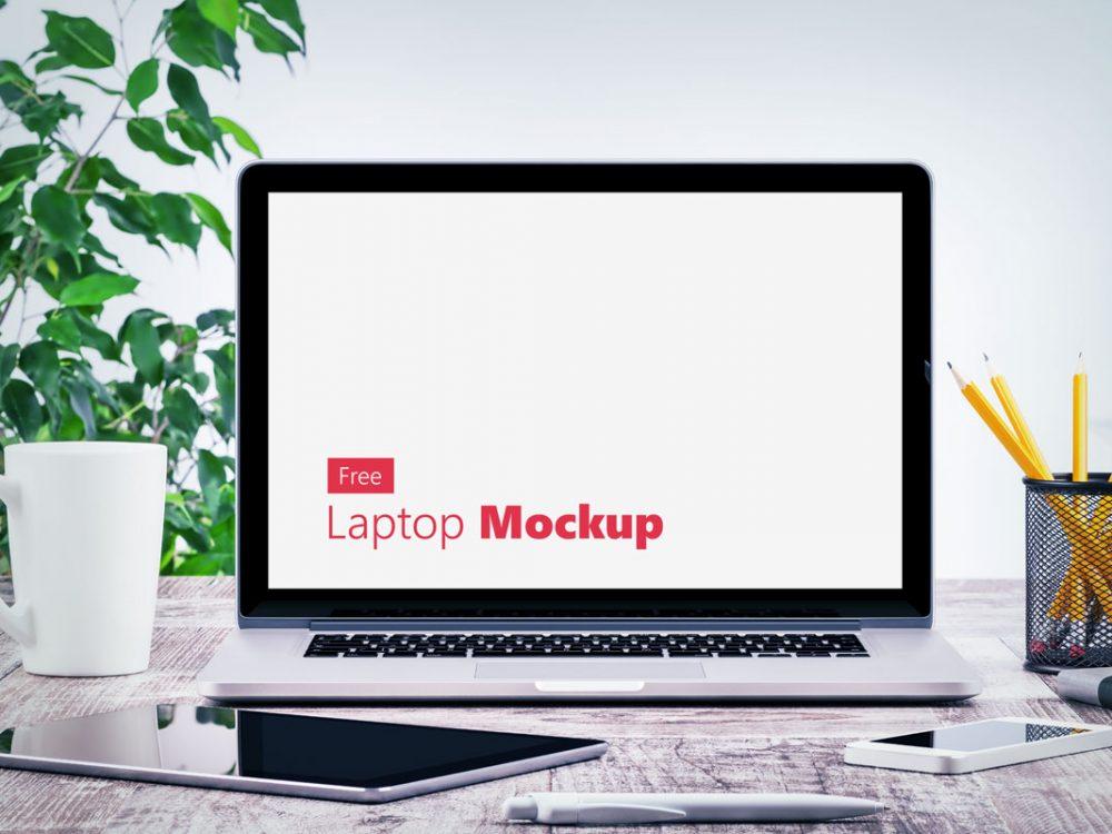 Laptop Mockup Free