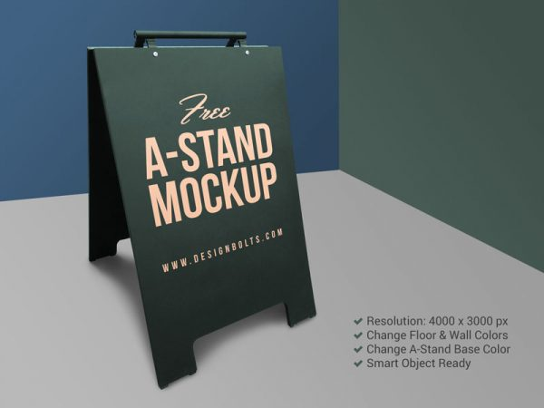free Stand mockup