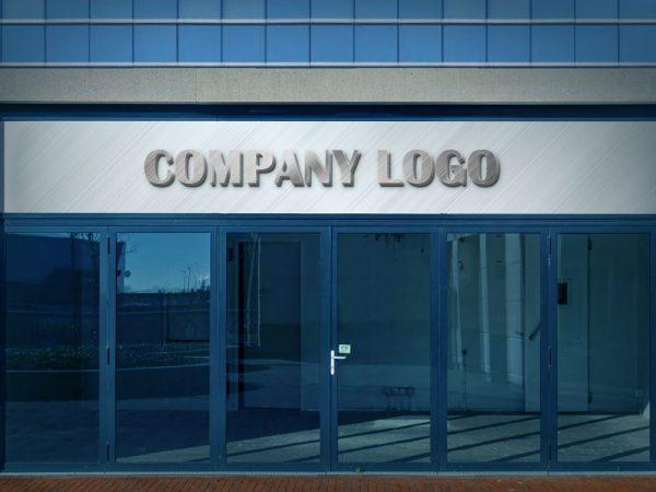 Free Company Logo Mockup