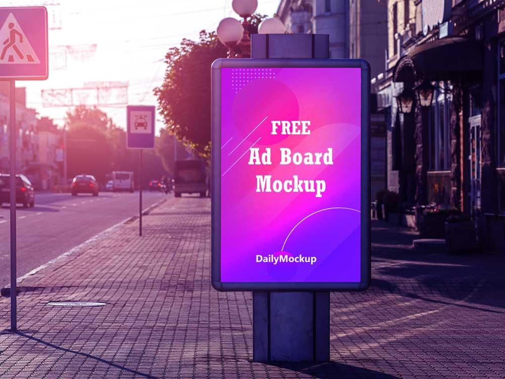 AD Poster Mockup PSD