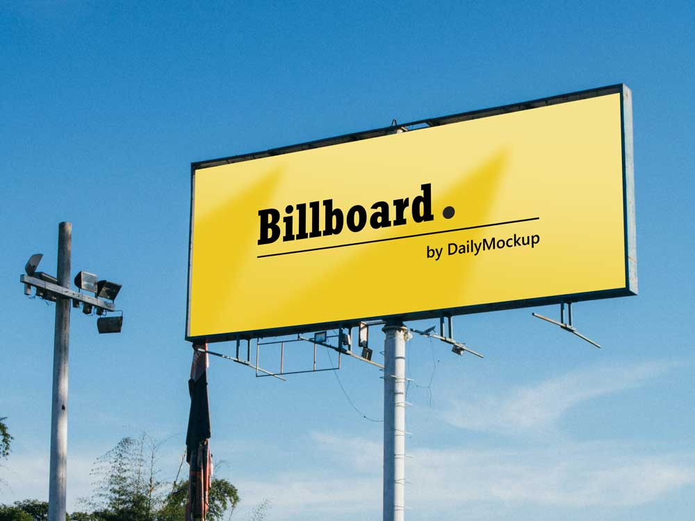 Billboard Mockup Free